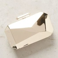 Treesje Asymmetry Clutch in Gold Size: One Size Clutches