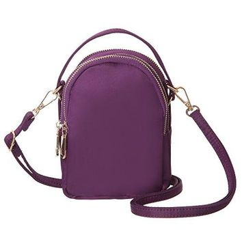 MINICAT Nylon Small Crossbody Bags Cell Phone Purse Smartphone Wallet For Women With Handy Carry