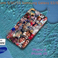 Magcon Boys faces Custom Case for iPhone 4, 4s, 5, 5s, 5c, Samsung Galaxy S3, S4