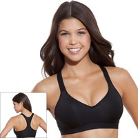 SO Bra Yoga Racerback Push-Up, Size: X LARGE