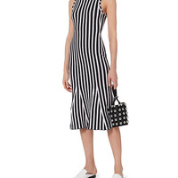 Victoria Beckham Wide Striped Knit Dress - INTERMIX®