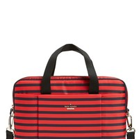 kate spade new york 'watch hill - stripe' nylon laptop bag (13 Inch) | Nordstrom