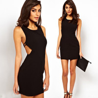 Hollow Out Bodycon Dress