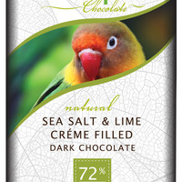 Endangered Species Sea Salt and Lime Filled Choclate - Food Fight! Grocery