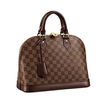 Louis Vuitton Damier Canvas Alma PM Tote Handbag Article: N53151 Made in France