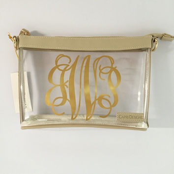 Stadium Approved Clear Cross Body Purse - Small