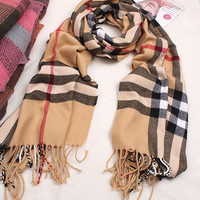 English Plaid Oversized Scarf - 2 Colors