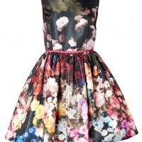 Multi Floral Print Prom Dress by Red Valentino