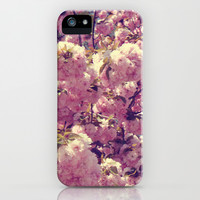 Cherry Blossoms iPhone & iPod Case by CAPow!