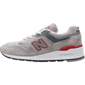DCCK1IN new balance m997cgr grey red white
