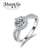 Gorgeous Swirl Style Promise Ring