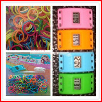 Loom Bands with Electronic Watch