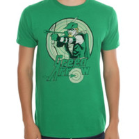 DC Comics Green Arrow Target T-Shirt 2XL