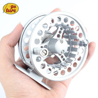 ALC 5/6 7/8 WT Aluminum Frame Spool Fly Fishing Reel Left Right Hand Die Casting Fly Reel Coil Pesca 2+1BB