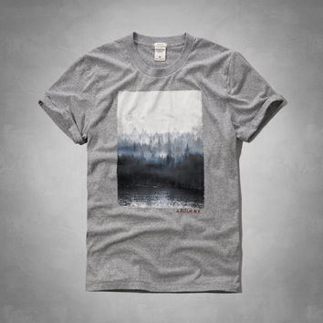 Painted Mountain Graphic Tee