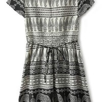 Paisley Elephant A-line Dress