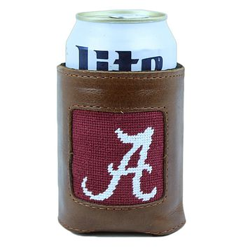 University of Alabama Needlepoint Can Holder by Smathers & Branson