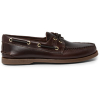 Sperry - Authentic Original Burnished-Leather Boat Shoes