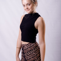 """Rima"" Patterned Shorts"