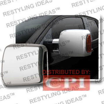 Toyota 2007-2008 Tundra Tow-Package Chrome Mirror Cover Performance