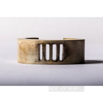 Parts of Four Crescent 4-Bar Punchout Bracelet (30mm, UAS)