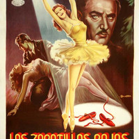 The Red Shoes (Spanish) 11x17 Movie Poster (1948)