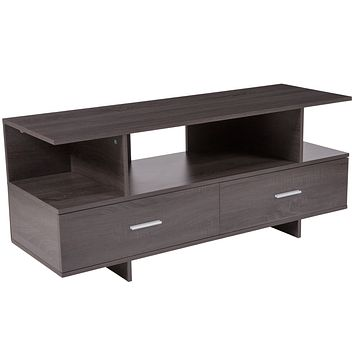 Fields Wood Grain Finish TV Stand and Media Console