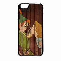 Wendy Kiss Peterpan Wood iPhone 6 Plus Case