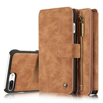 Luxury Wallet Phone Case For Apple iPhone 7-7plus - /6s - 6Plus Cover
