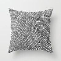 Aimless Throw Pillow by duckyb