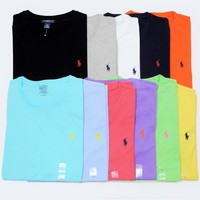 NWT Ralph Lauren POLO Mens Cotton T-shirt TEE CUSTOM FIT New!