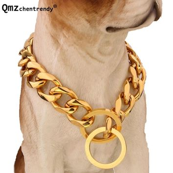 Pet Link Stainless Steel Dog Chain Collar