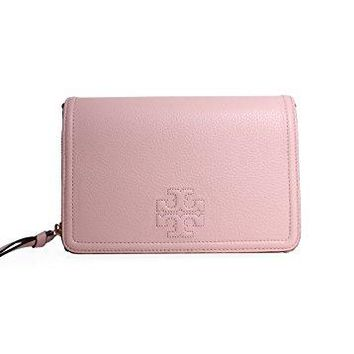 Tory Burch Women's Thea Flat Wallet Cross Body Bag, Sweet Melon, One Size