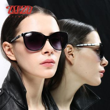 20/20 Brand Design Women Cat eye Sunglasses Female Retro Style Polarized Glasses Shades UV400 Oculos de sol Feminino PL337