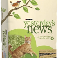 Purina Yesterday's News Paper-Based Cat Litter: 26 lbs
