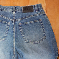 Vintage NY Jeans, High Waist, Flared Leg, Size 10