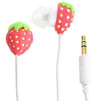 Shop Strawberry Ear Buds at HSN mobile