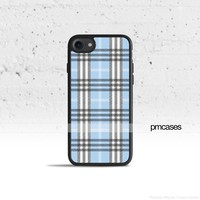 Plaid Blue Phone Case Cover for Apple iPhone iPod Samsung Galaxy S & Note