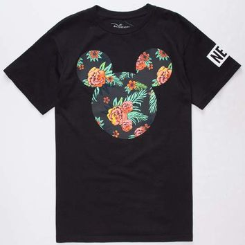 NEFF Disney Collection Astro Floral Mickey Mens T-Shirt | Graphic Tees 2 for $30