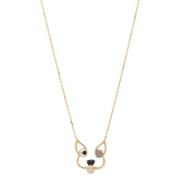 Ruifier Patch Pendant Necklace in 18k Yellow Gold | FWRD