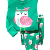 Owl PJ Sets for Baby