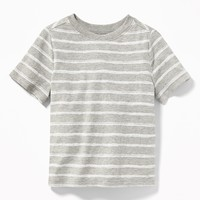 Striped Crew-Neck Tee for Toddler Boys|old-navy