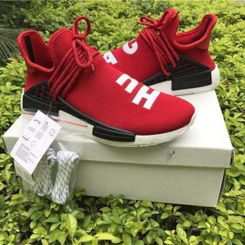VON3TL Sale Pharrell Williams x Adidas PW HU Human Race NMD Hu Red Boost Sport Running Shoes Classic Casual Shoes Sneakers