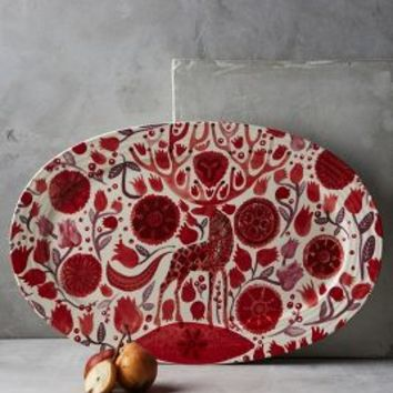 Nordic Sunrise Platter by Anthropologie in Multi Size: Platter House & Home