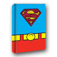 Superman Costume Hard Cover Journal