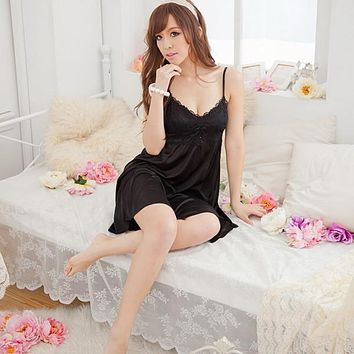 Women Sexy Lingerie Lace Babydoll Dress Lady Underwear Sleepwear Chemise