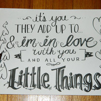Little Things  One Direction by 17Styles on Etsy