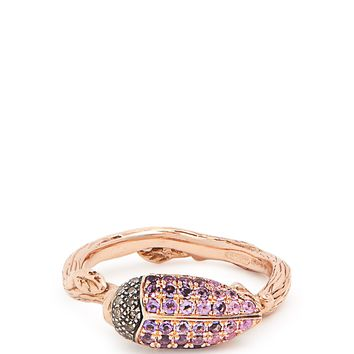 Scarab rose-gold ring | Bibi Van Der Velden | MATCHESFASHION.COM UK