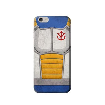 P2813 Vintage Dragonball Z Vegeta Saiyan Armor Phone Case For IPHONE 6S