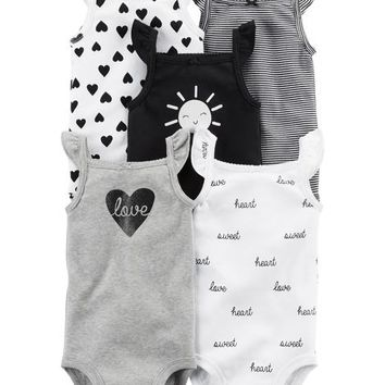 Baby Girl One Piece Bodysuits | Carter's | Free Shipping